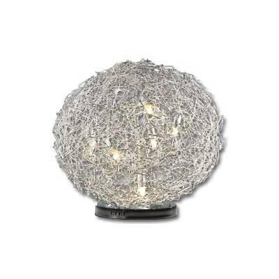 Esfera colgante y superficie con LEDS 60cm