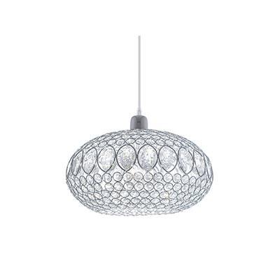 Lámpara de techo colgante Circon, cristal