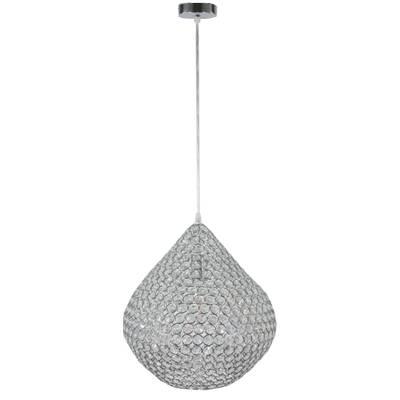 Lámpara de techo colgante cromo