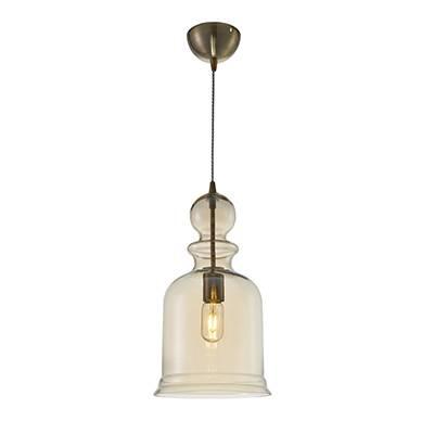 Lámpara de techo coñac