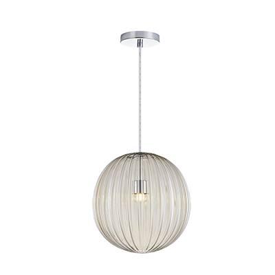 Lámpara de techo colgante Bola, coñac 18 cm dm