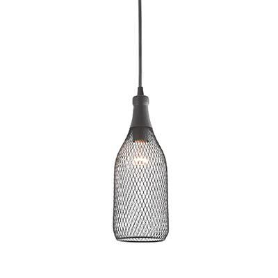 Lámpara de techo colgante botella 1L Maribel