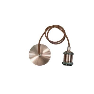 Portabombilla cobre E27