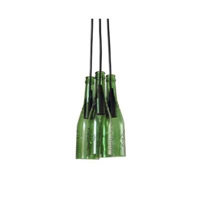 Lámpara colgante de 3 botellas Alhambra