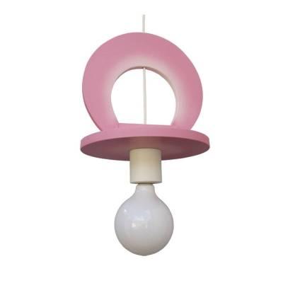 Lámpara colgante Chupete rosa