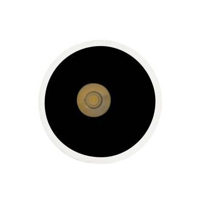 Empotrable Lop 12w negro