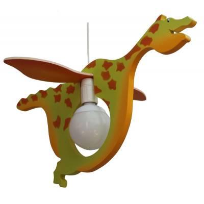 Lámpara colgante  Dragón  multicolor