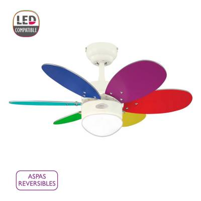 Ventilador Turbo Swirl color