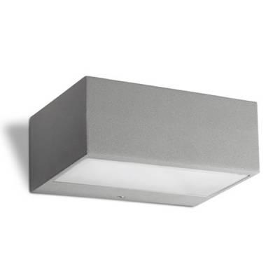 Aplique NEMESIS Gris claro rectangular