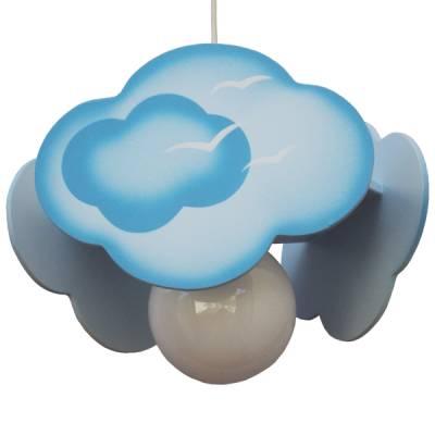 Lámpara colgante Nube azul