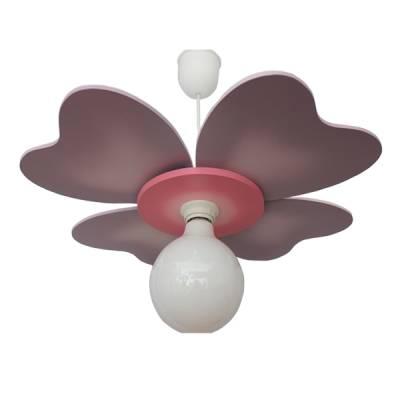 Lámpara colgante Trébol lila