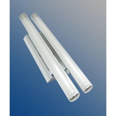 Plafón aluminio 2x14w