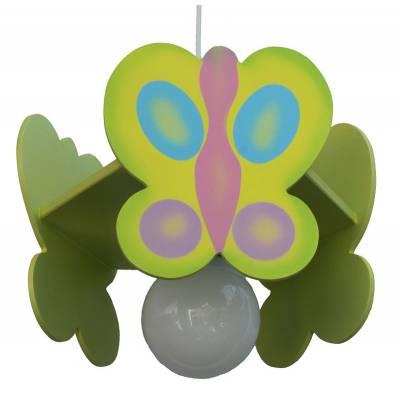 Lámpara colgante  Mariposa pistacho