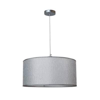 Lámpara colgante plata cromo