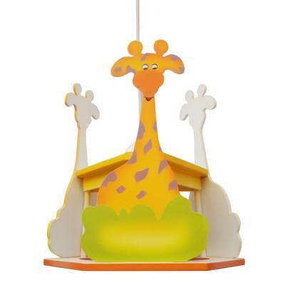 Lámpara colgante Jirafa multicolor