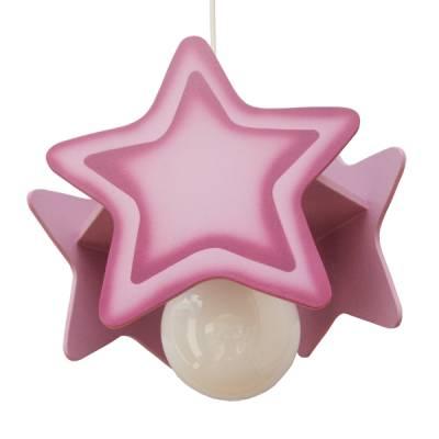 Lámpara colgante Estrella violeta