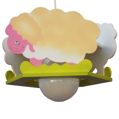 Lámpara colgante Rebaño ovejas