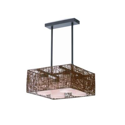 LAMPARA ALEXANDRA 4L WENGUE E27-40W