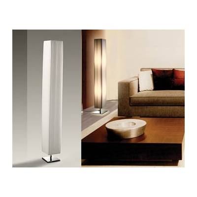 Lámpara de pie blanca de 120cm