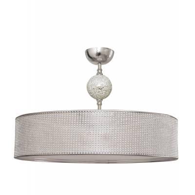 Semiplafón Diamante plata