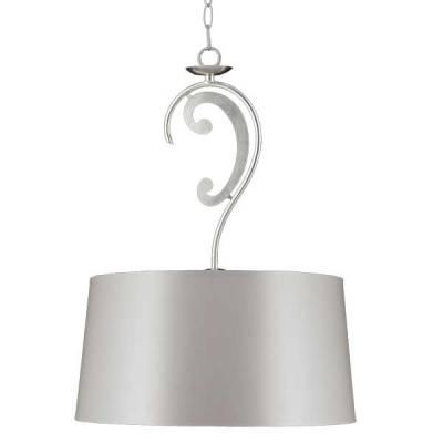 Lámpara colgante Marian 1l Pan Plata