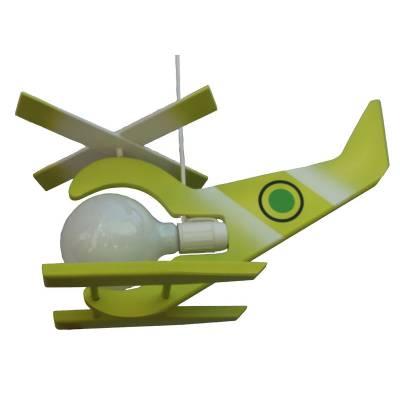Lámpara  Helicóptero libelula  pistacho