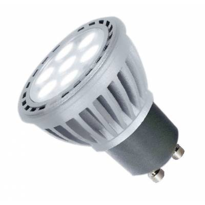 Bombilla GU10 LED 7W luz cálida