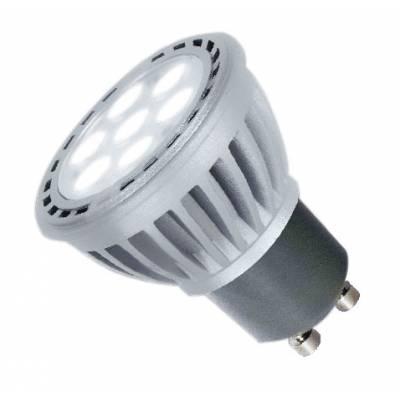 Bombilla GU10 LED 7W luz fría