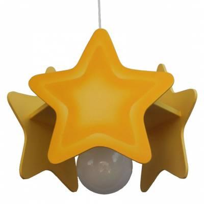 Lámpara colgante  Estrella amarilla