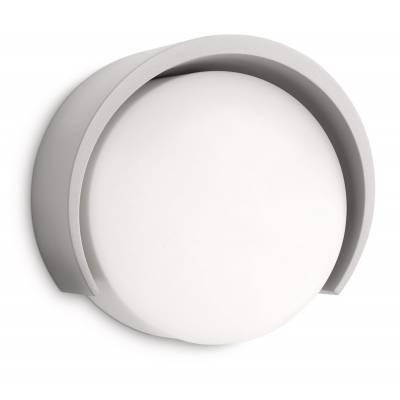 Aplique Parasola gris