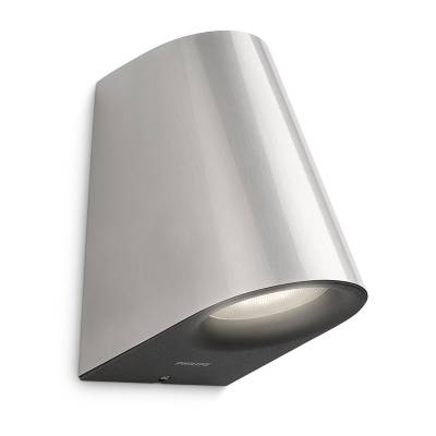 Aplique Virga Led inoxidable