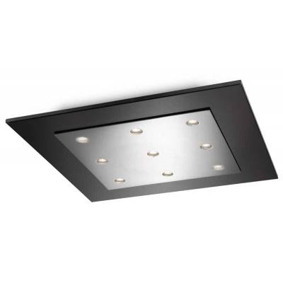 Plafón Matrix led cromado