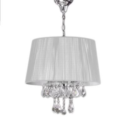Lámpara colgante Miramar plata