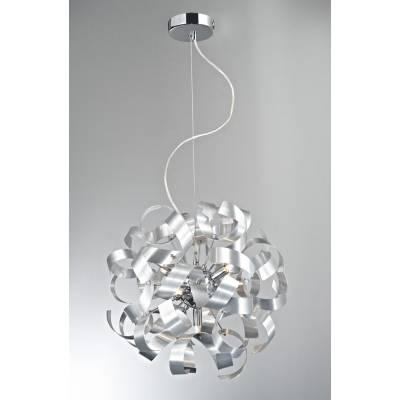 Lámpara colgante Tirabuzón 50 Aluminio
