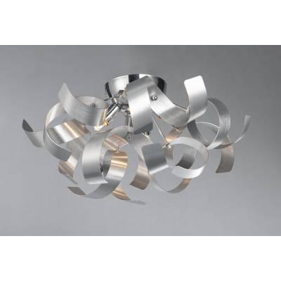 Plafón Tirabuzón Aluminio