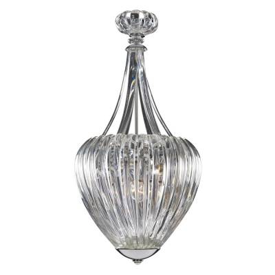 LAMP. PETUNIA 6L CLEAR CHROME