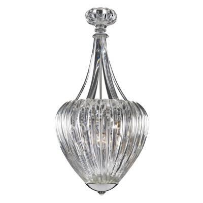 LAMP. PETUNIA 6L CLEAR CHROME