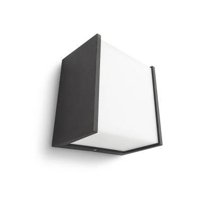 MACAW WALL LANTERN BLACK 1X3W SELV