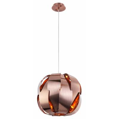 Lámpara colgante Moi cobre