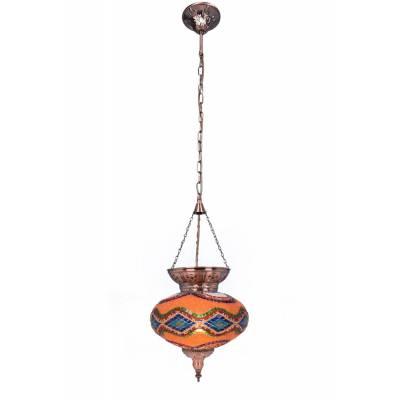 Lámpara colgante Jaipur multicolor