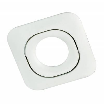 Empotrable 1l cuadrado blanco