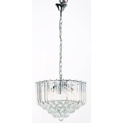 Lámpara colgante 4l transparente
