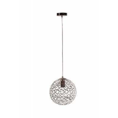 Lámpara colgante 1l aluminio