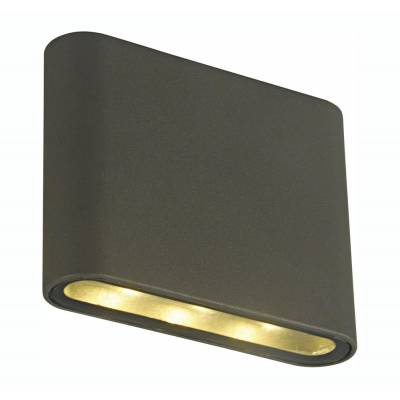 Aplique led Book gris oscuro