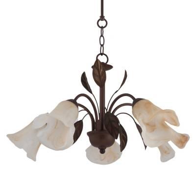 Lámpara colgante Ayamonte 5l