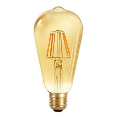 Bombilla 4w led filamentos gold