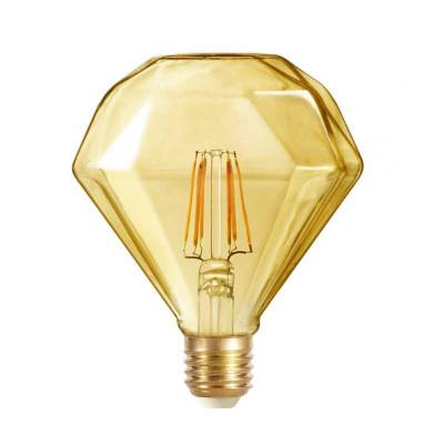 Bombilla 4w led diamante gold