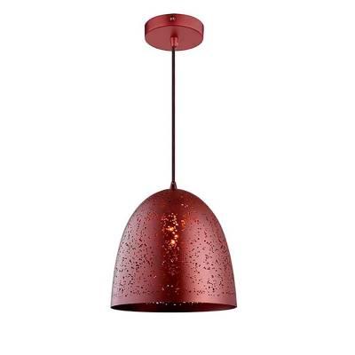 Lámpara colgante metal marrón