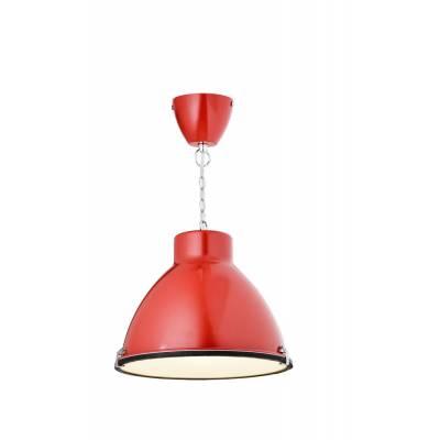 Lámpara colgante rojo