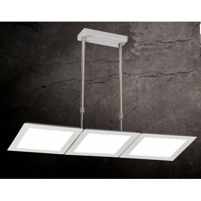 Lámpara 54w led plata